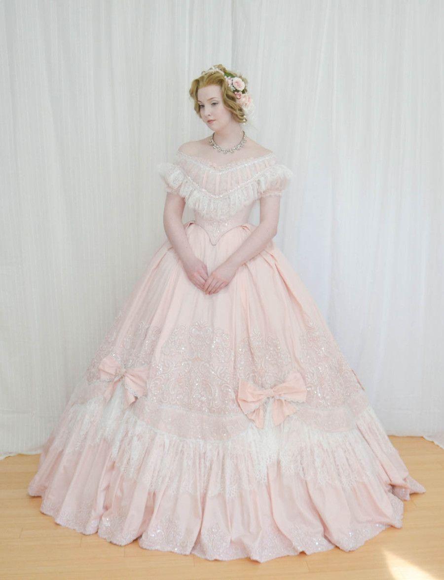 Wordpress Com Victorian Ball Gowns Historical Dresses Southern Belle Dress [ 1175 x 900 Pixel ]