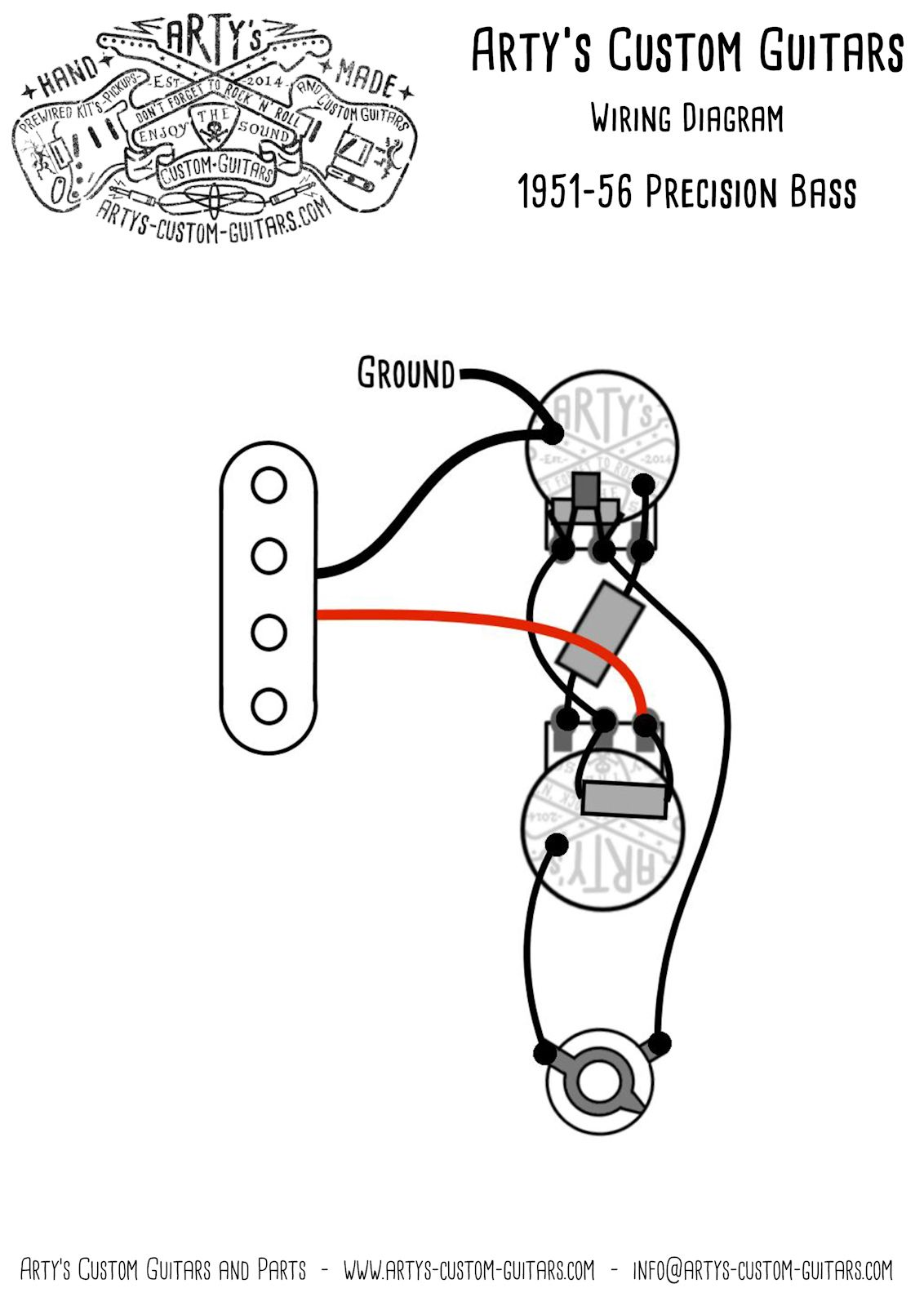 Fender Bass Wiring Diagram from i.pinimg.com