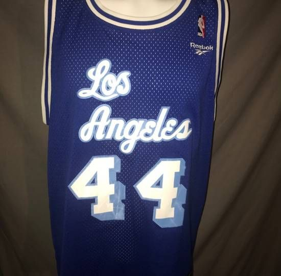 af53422043c Reebok Vintage Los Angeles Lakers Jerry West Hardwood Classics Basketball  Jersey Size xl - Jerseys for Sale - Grailed