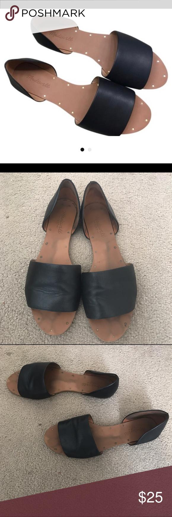 MM6 Maison Martin Margiela Designer Shoes Black Leather