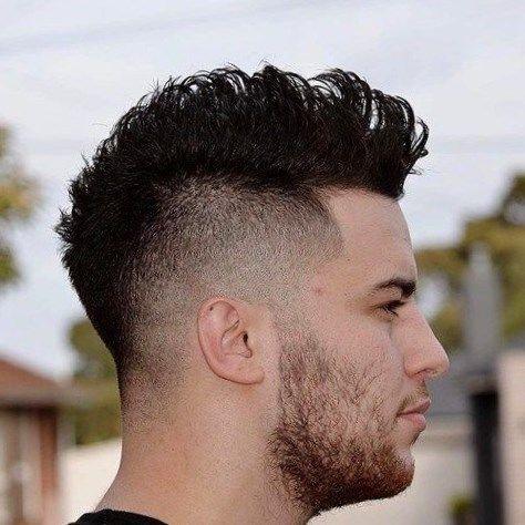 Cortes de pelo de hombre la cresta