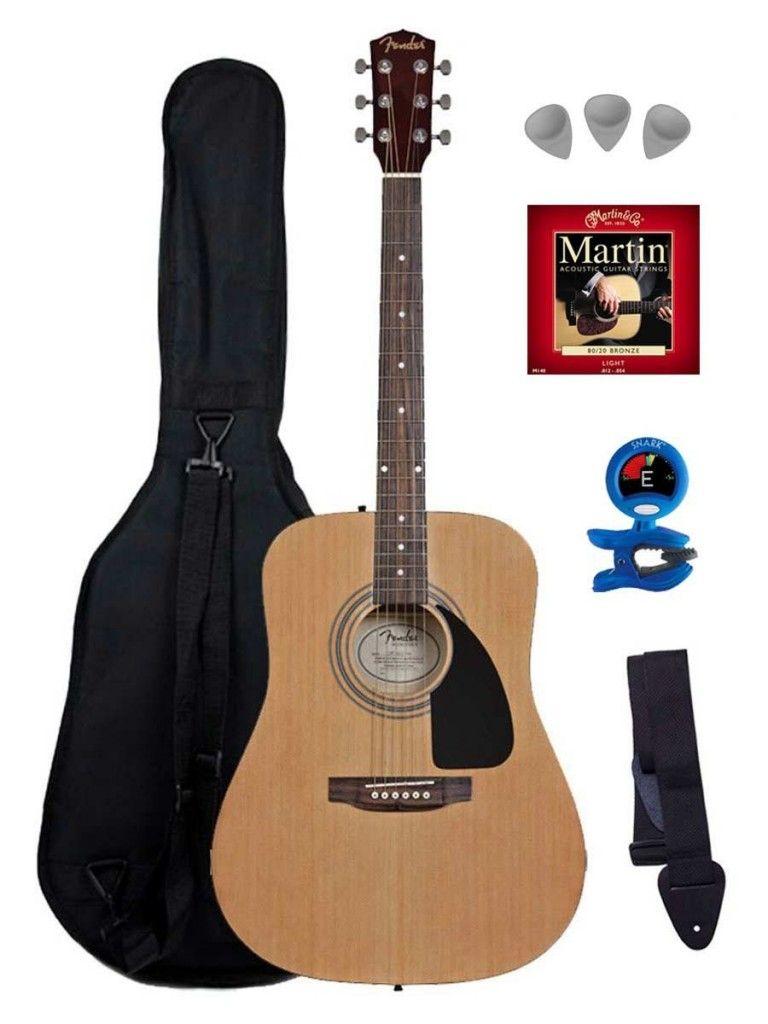 Great Beginner Guitar Fender Fa100 129 99 Acoustic Guitar Tuner Acoustic Guitar Fender Acoustic Guitar