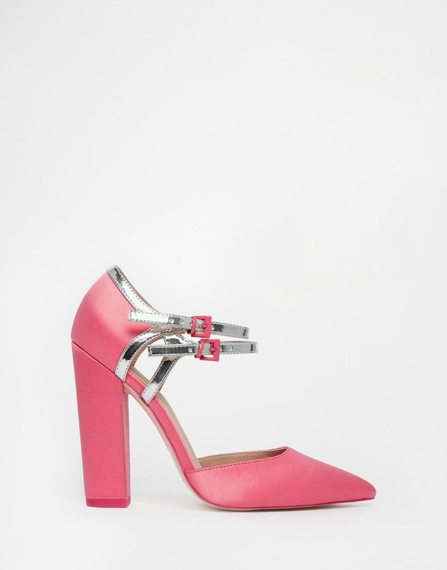 2752fb75c The 10 party shoes to get you through sparkle season. Pretty in pink (Mary  Janes) <3. Pretty in pink (Mary Janes) <3 Heeled Mules, Heeled Boots,