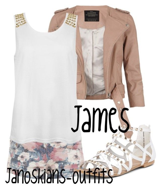 """""""Walking at the lake"""" by janoskians-outfits ❤ liked on Polyvore featuring Parisian, AllSaints and Dorothy Perkins"""