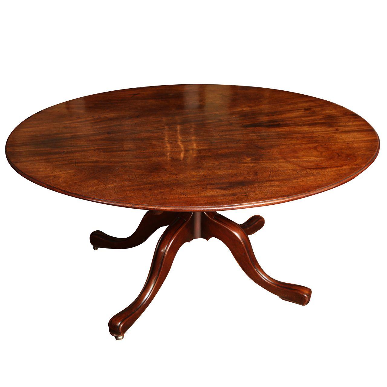 1stdibs Com Antique George Iii Oval Mahogany Breakfast Table