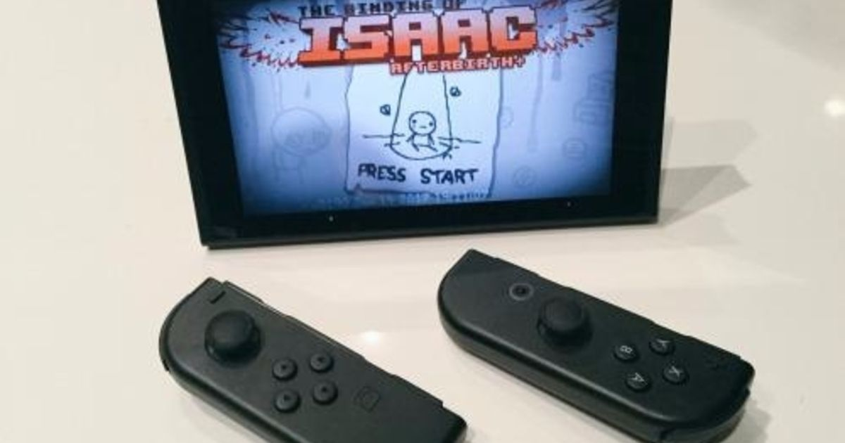 The Binding of Isaac: Afterbirth will be a Switch launch title in North America  Eurogamer.net