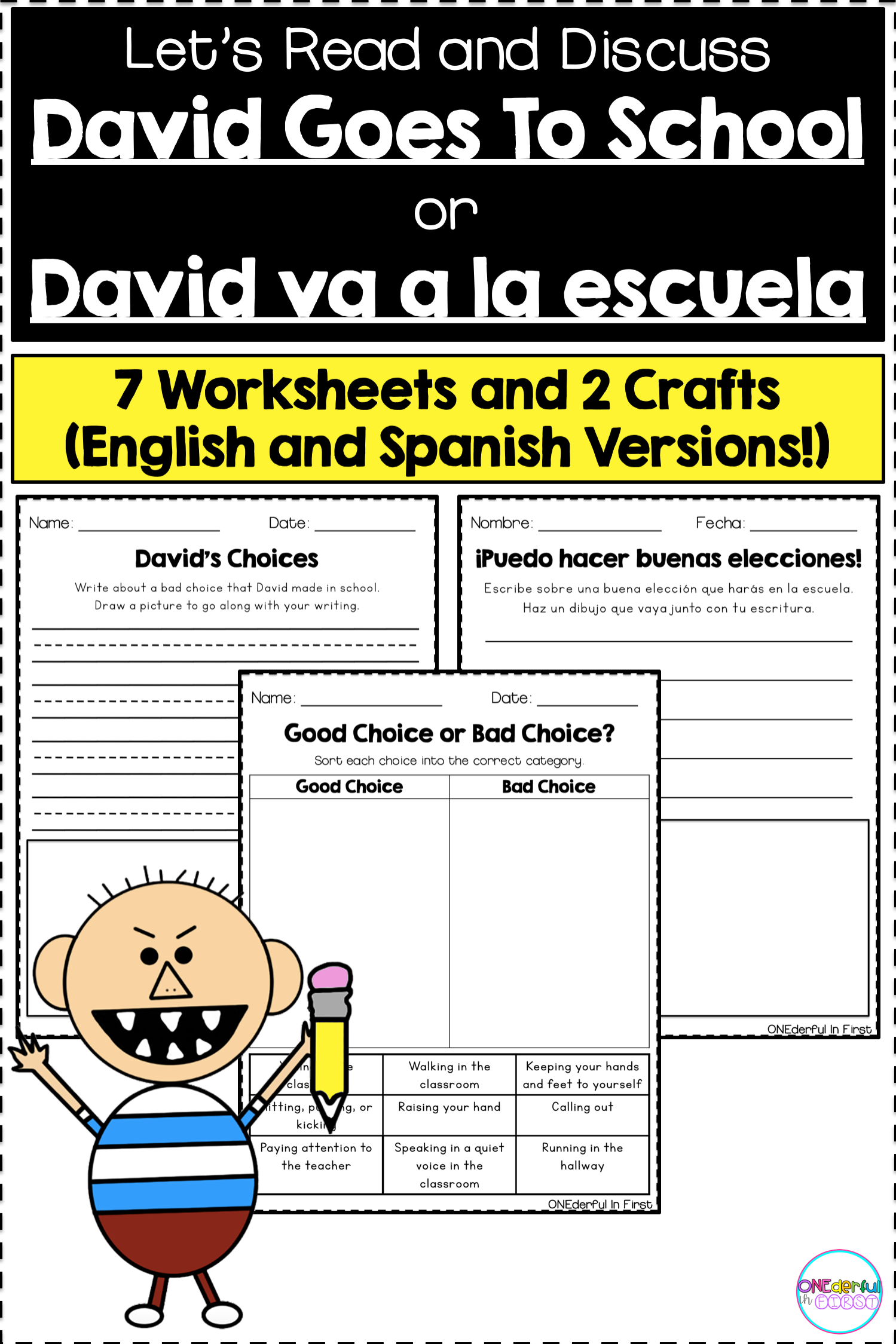 David Goes To School Amp David Va A La Escuela