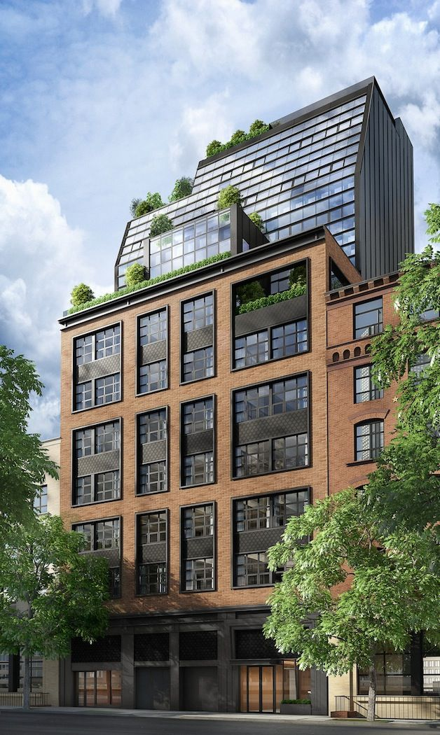 This Stunning New York Apartment Building Used To Be A Parking Garage Apartments Exterior Building Exterior Apartment Architecture