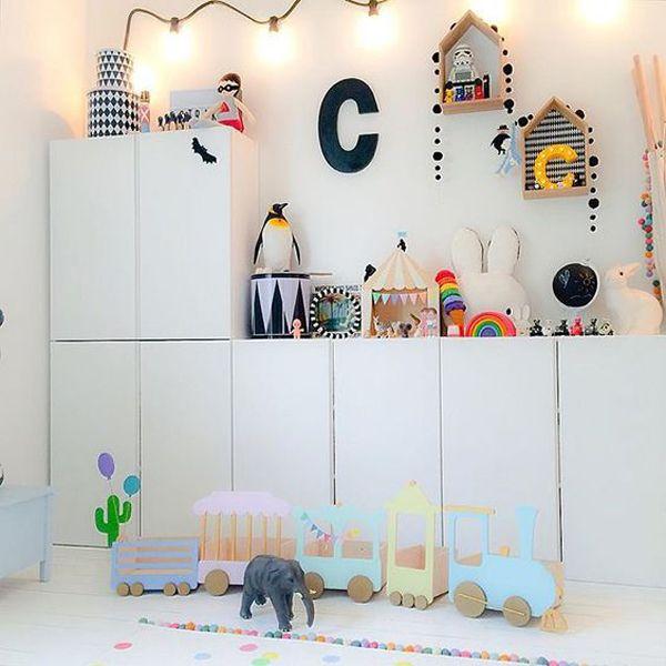 15 Simple DIY Ikea IVAR Cabinet For Kids Room