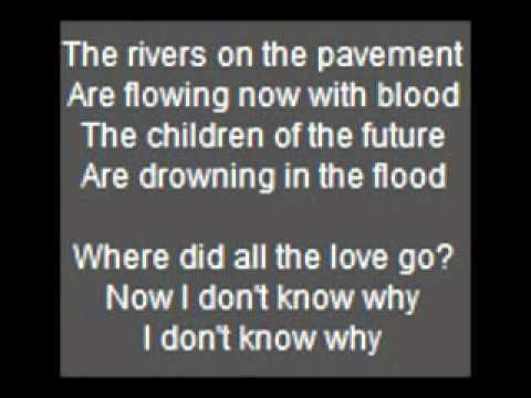 Kasabian -  where did all the love go? Lyrics