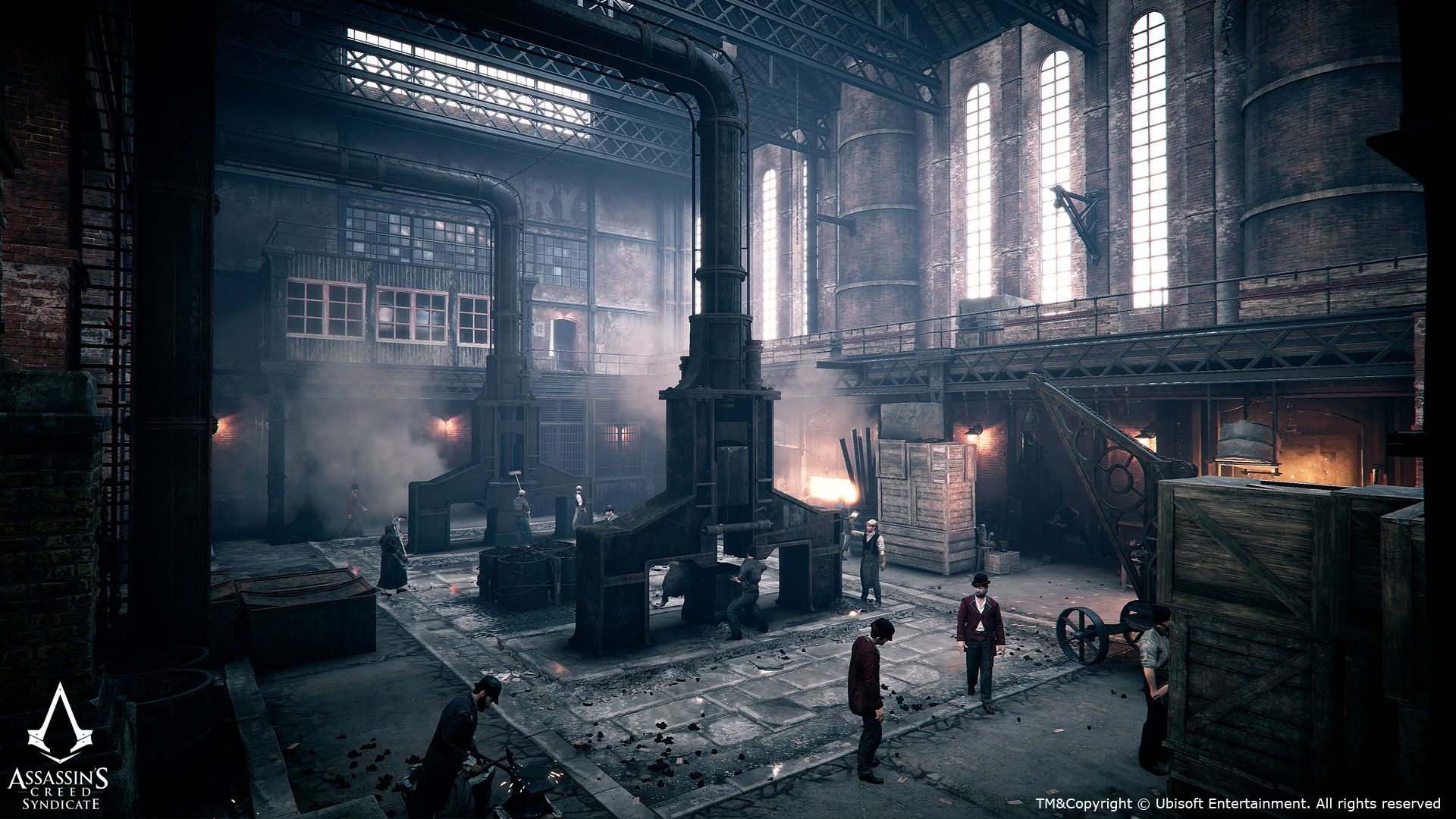 This Is The Industrial Architecture Kit For Assassins Creed
