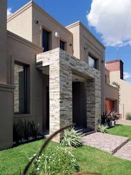 Fachadas de casas modernas fachadas de casas modernas de for Fachadas de chalets de una planta