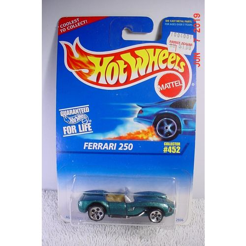 Ferrari 250 Green Met. Chrome Pipes C5H 1/64 #452 1996 Hot Wheels BP a 074299098918 on eBid United States | 182413289