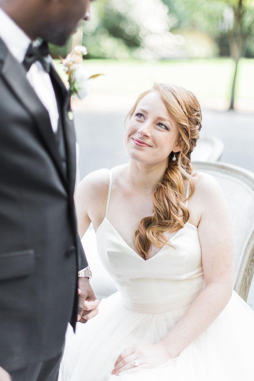 Redhead Bridal Hairstyles Asymmetrical Updo Wedding Formal