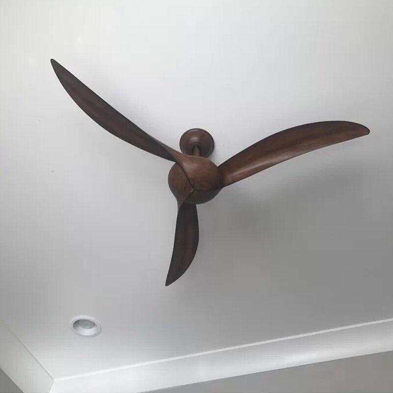 Minka Aire 52 Wave 3 Blade Propeller Ceiling Fan Reviews Wayfair In 2020 Ceiling Fan With Remote Propeller Ceiling Fan Ceiling Fan