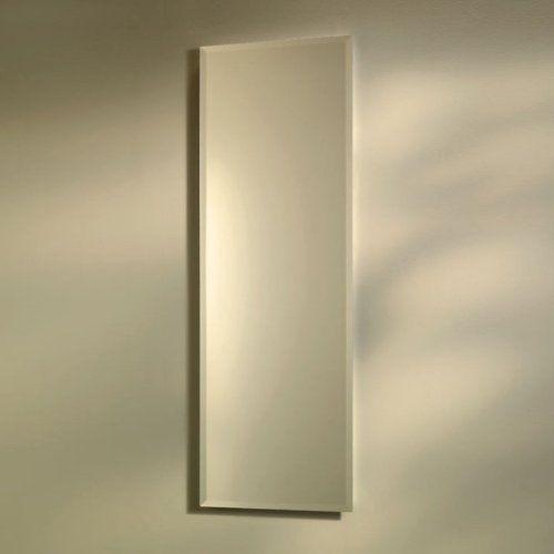 Broan Nutone Pillar 12w X 36h In Recessed Beveled Mirror Medicine
