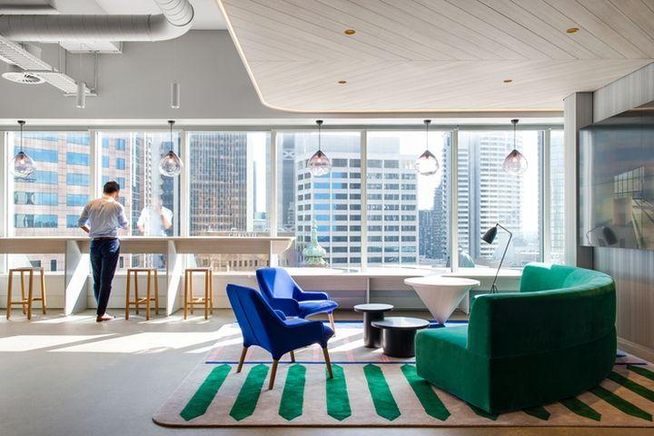 Savills office by futurespace sydney australia retail design blog
