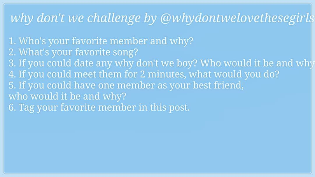 Who are the why dont we members dating