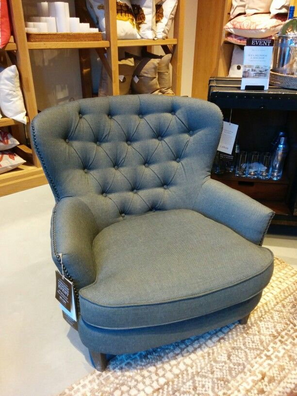 Captivating Cardiff Tufted Armchair At PB. I Am Sitting In It Right Now. Feels Like A  Chair And A Half. Could Solve The Challenge In The Study For Seating.
