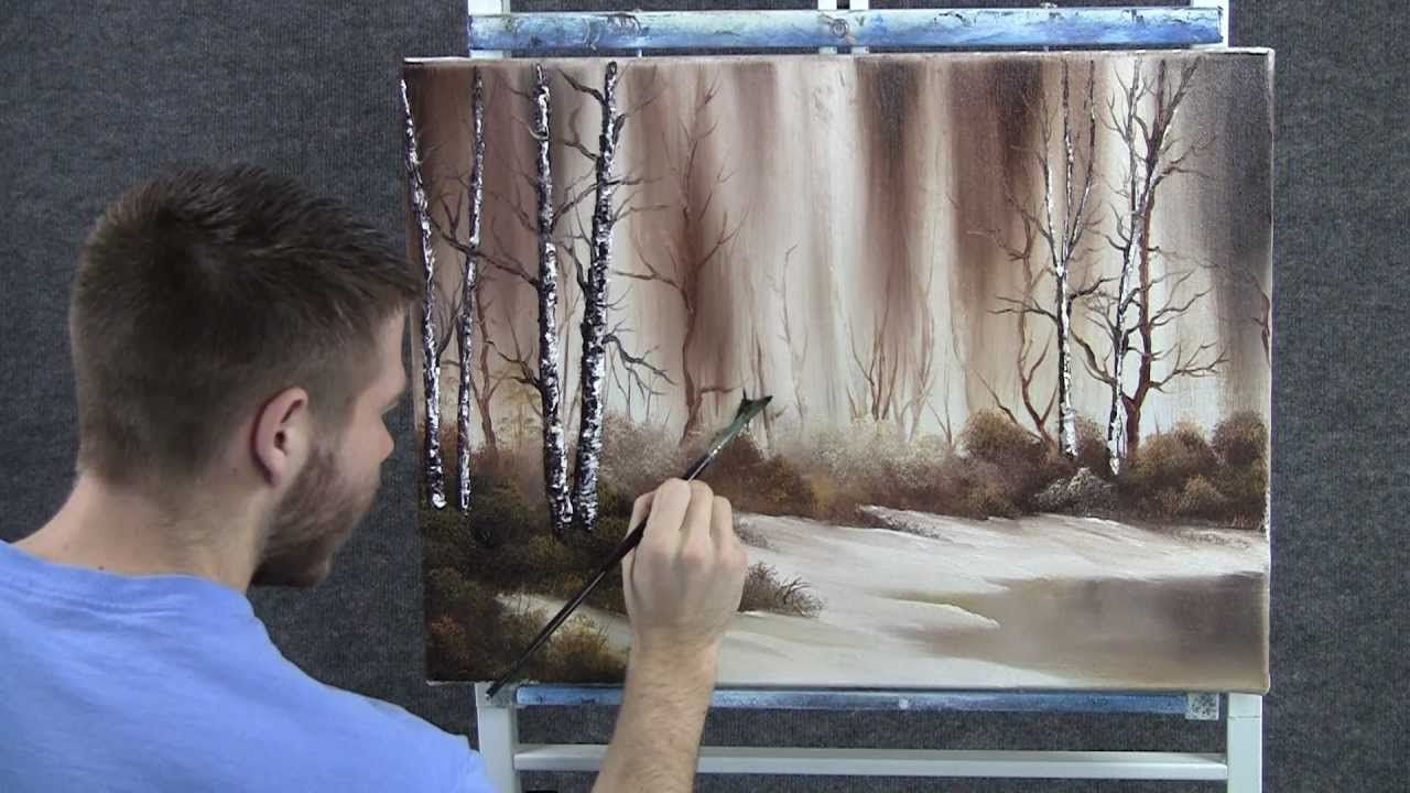 Pittura Ad Olio Tutorial Paint With Kevin Early Snow Pittura Tutorial Tutorial