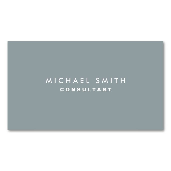 Professional plain elegant interior decorator gray business card professional plain elegant interior decorator gray double sided standard business cards pack of 100 colourmoves