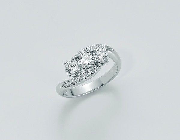 Extrêmement Anello Yukiko | anello fidanzamento | Pinterest | Fidanzamento  PX22