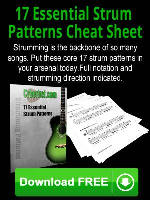 Free Download 17 Essential Strum Patterns Pdf Guitar Guitar