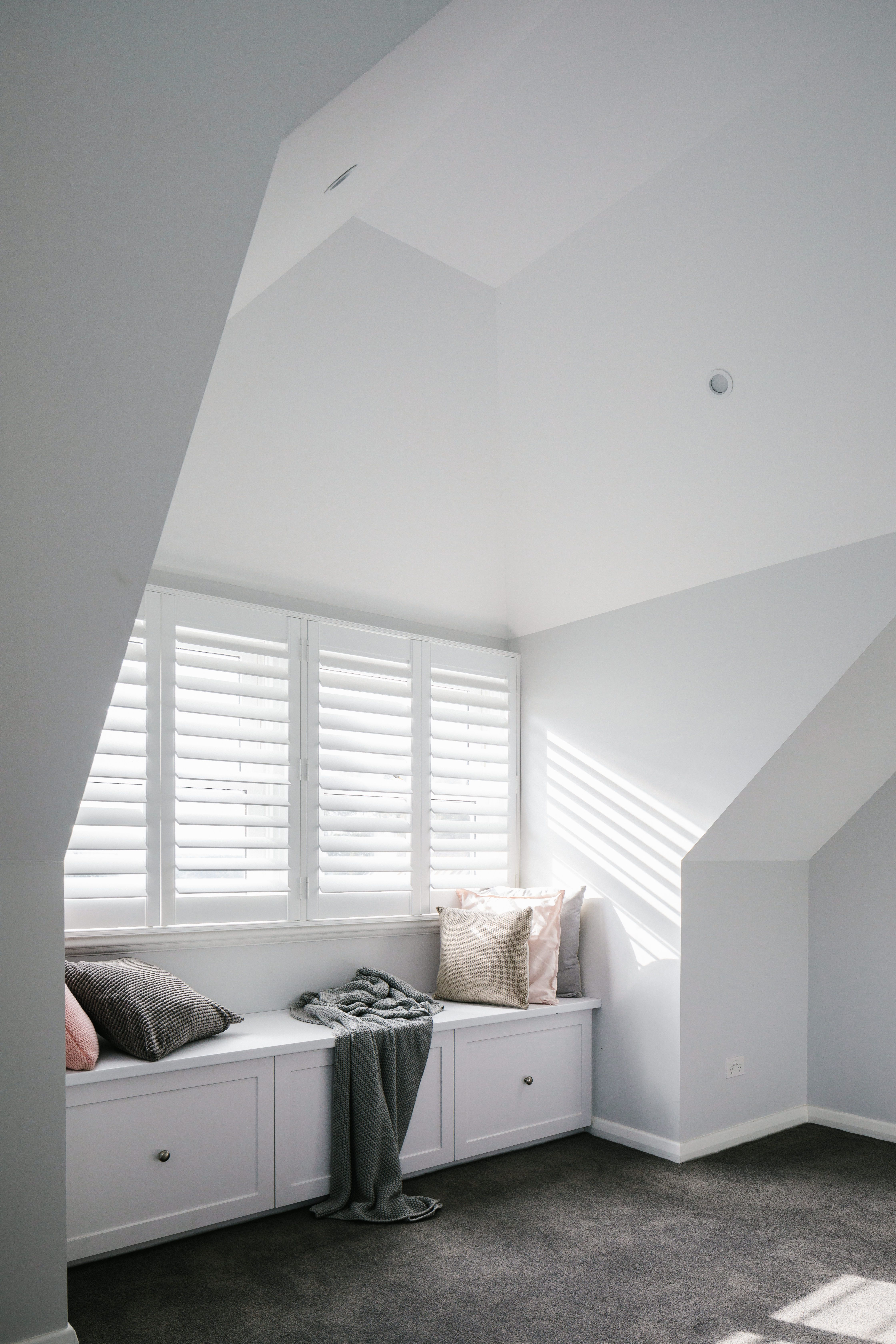 This Unused Roof Space At A Home In Eaglemount Was Transformed Into A Beautiful Bedroom Talk About Maximisin Loft Conversion Beautiful Bedrooms Living Spaces