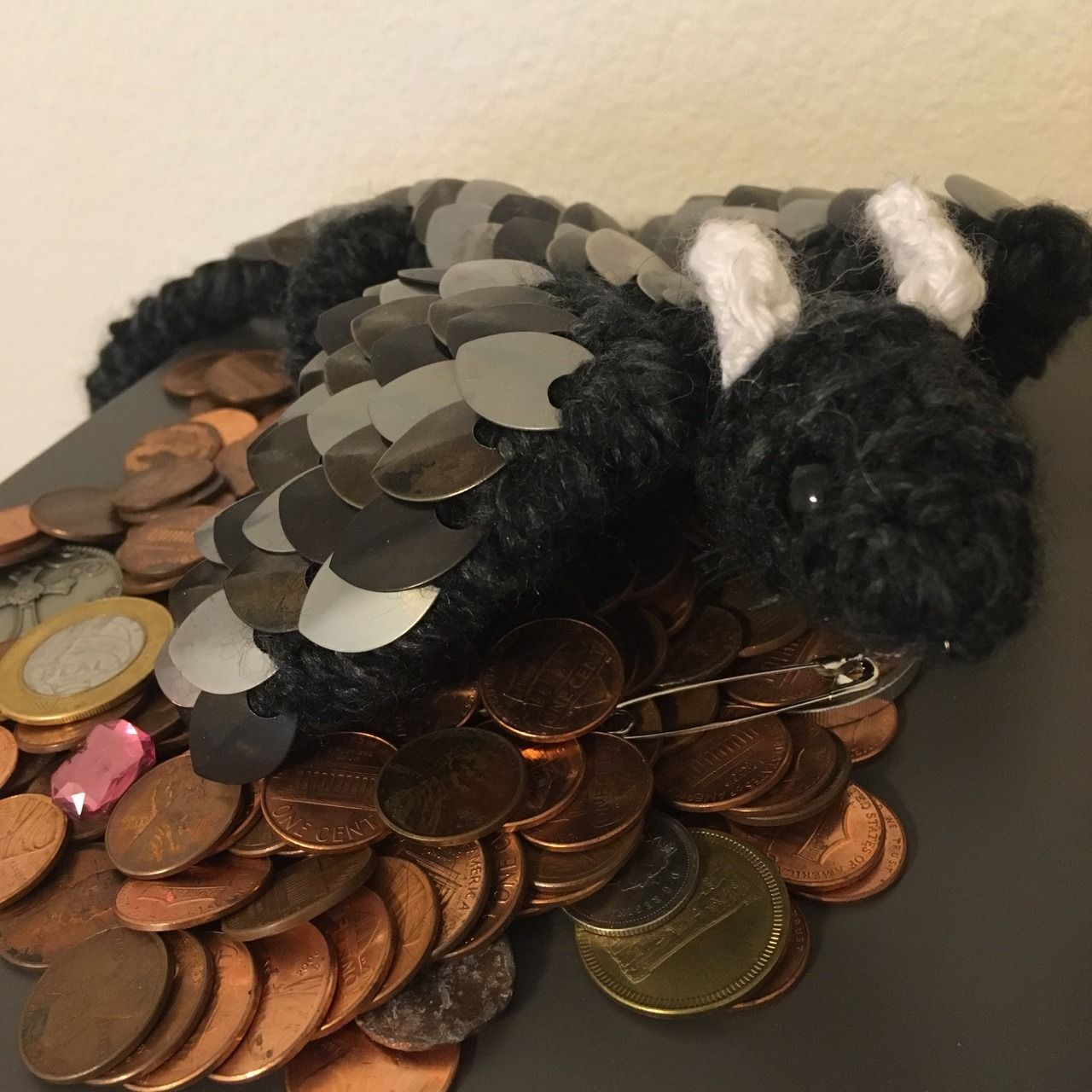"""Tj-crochets: My brother gave my dragon its first hoard ❤️ - #""""Get #all #amigurumi #an #and #asthma #because #best #brother #Butt #crochet #dragon #for #hoard #is #It's #kicking #little #my #not #octopus #of #old #photo #picture #reblogging #so #tag #that's #the #this #twilight #you"""