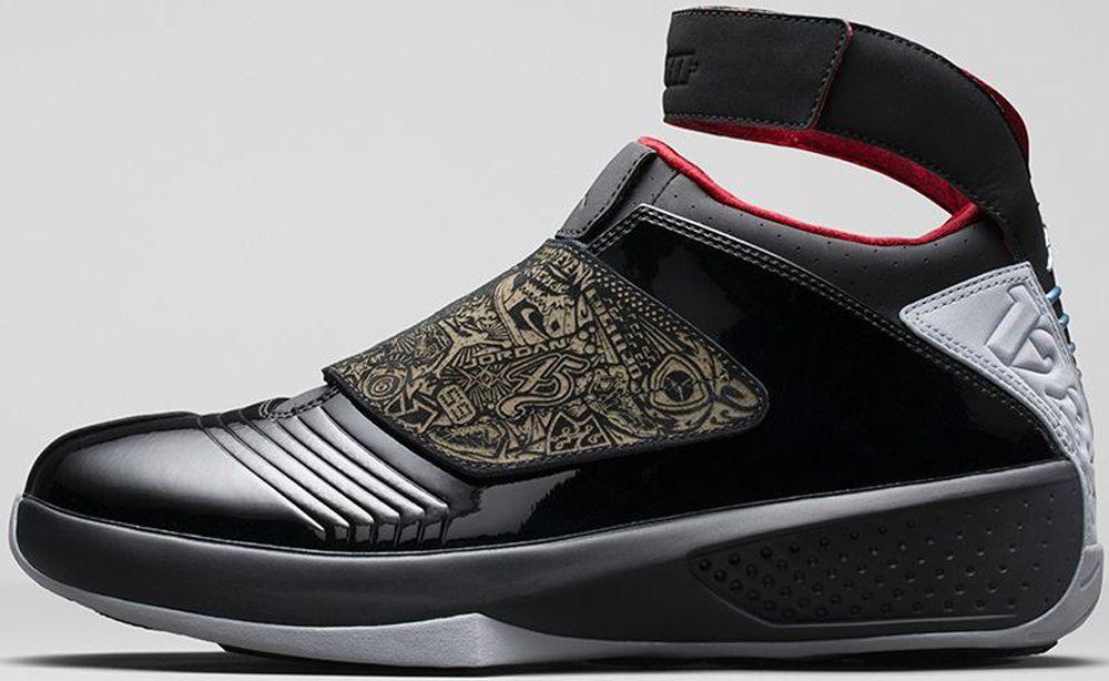 promo code 6e896 c0c8a Air Jordan 20 Retro Black Stealth-Varsity Red