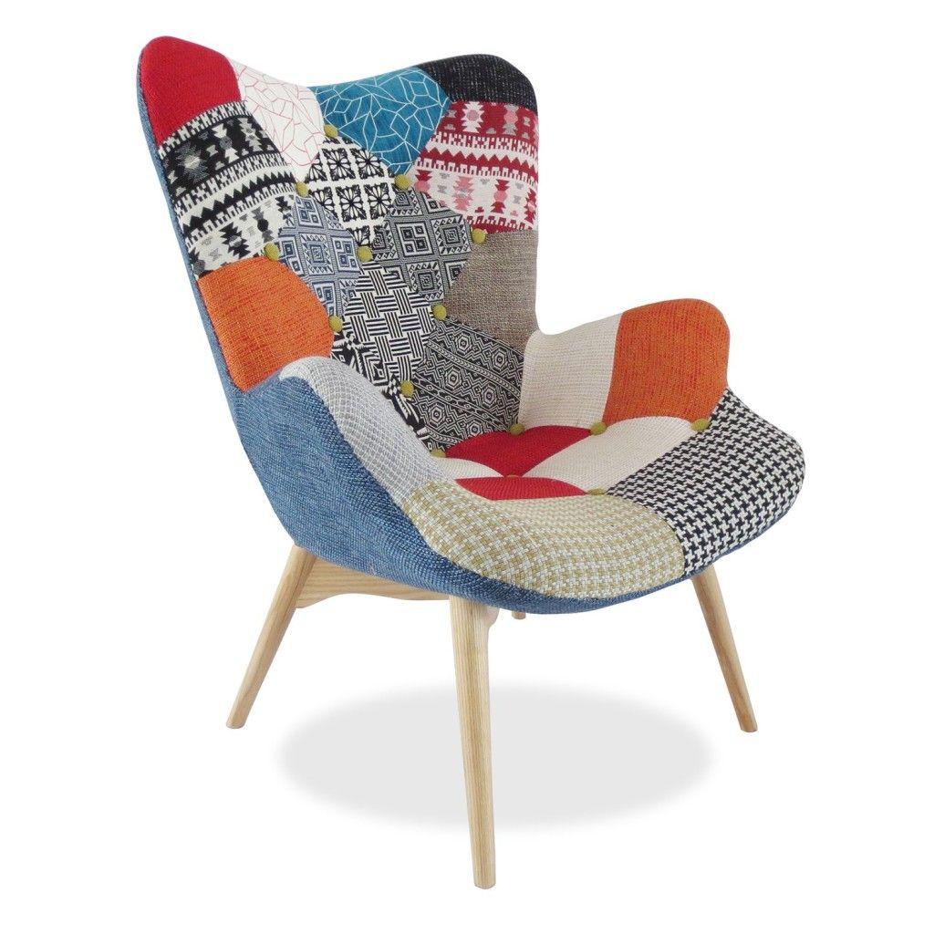 Charles Eames Poltrona Prezzo.Poltrona Patchwork Piu Colore Alla Casa Tanti Modelli Con