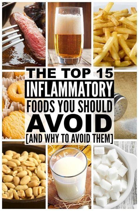 Entzündungshemmende Ernährung: 15 Lebensmittel zu vermeiden und warum   – remember this