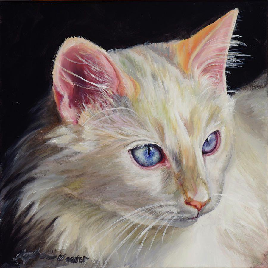 "Ragdoll Cat Oil Painting ""Ragdoll Cat"" Art by Stephanie"