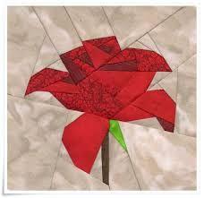 bildergebnis f r quilt vorlagen kostenlos rose applikation pinterest paper piecing. Black Bedroom Furniture Sets. Home Design Ideas