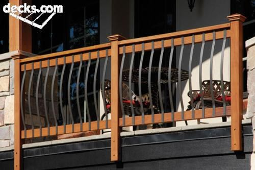 Hot New Trends In Deck Railing Ideas For Your Home Deck Railing Design Deck Railings Deck Handrail