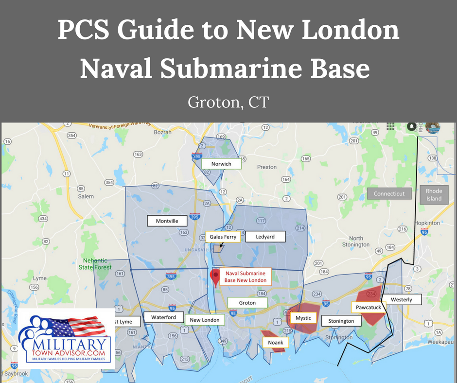 Pcs Guide To New London Naval Submarine Base In Groton Ct Read