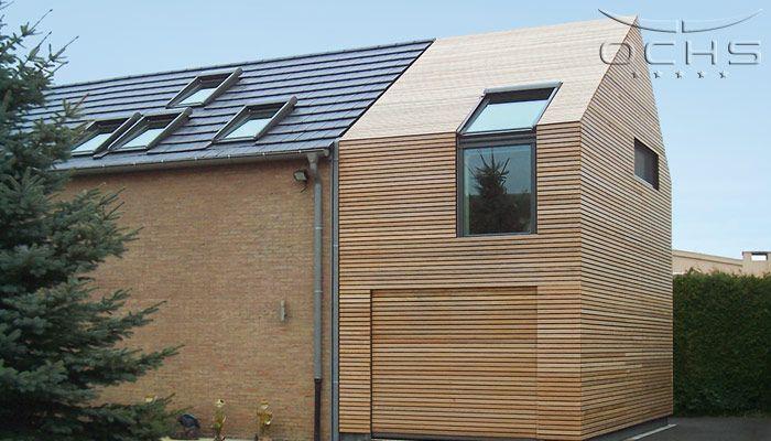 anbau ochs architektur architektur holzfassade und. Black Bedroom Furniture Sets. Home Design Ideas