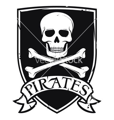 Pirates Emblem Vector Image On Pirate Symbols Pirate Images