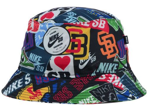Nike Action Black Assorted Stickerbomb Bucket  4db74d8bc4c