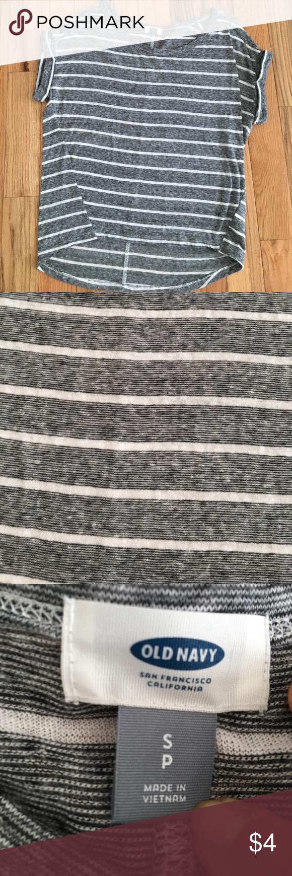 Black t shirt old navy - Old Navy Striped T Shirt