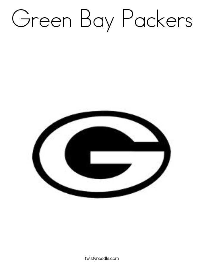 Green Bay Packers Coloring Page Football Coloring Pages Coloring Pages Green Bay