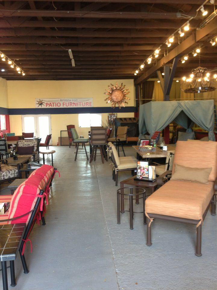 Arizona Iron Patio Furniture (Phoenix Showroom)