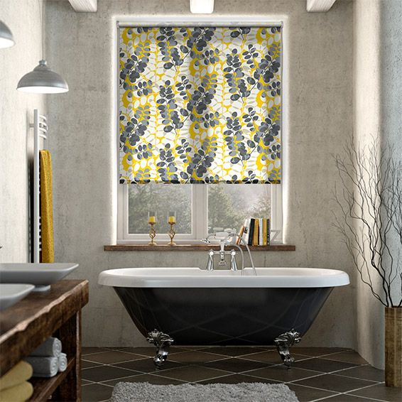 Lunaria Sunflower Roller Blind Roller Blinds Living