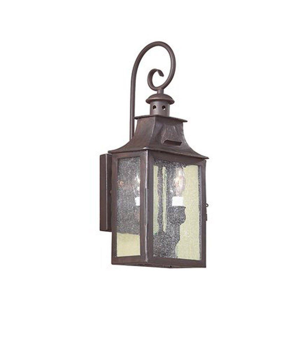 Troy Csl Lighting Bcd9001obz Newton 2 Light 18 Inch Old Bronze Outdoor Wall Lantern In