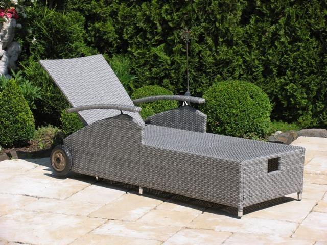Pin by ladendirekt on Gartenmöbel Sun lounger, Reclining