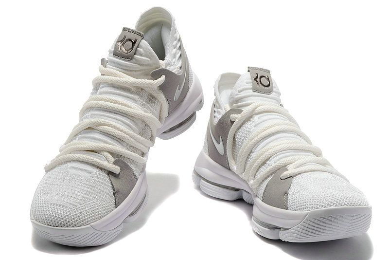 brand new a1b2a da339 Where To Buy Nike KD 10 LMTD EP White Flyknit Mens Basketball Shoes 2018 On  Line   NIKE kd X SHOE   Pinterest   Nike zoom