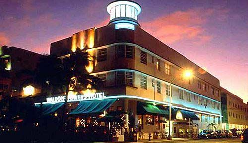 The Waldorf Towers Hotel In South Beach Miami Is Recognizable By Its Signature Watchtower