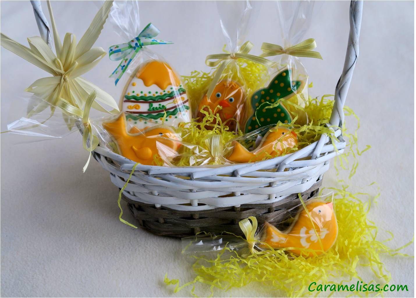 Para Luis #caramelisas #cookies #galletasdecoradas #sweet #followme #decoratedcookies #cookieart #royalicing #glasareal #easter #pascua #huevosdepascua #eastereggs #cestasdepascua
