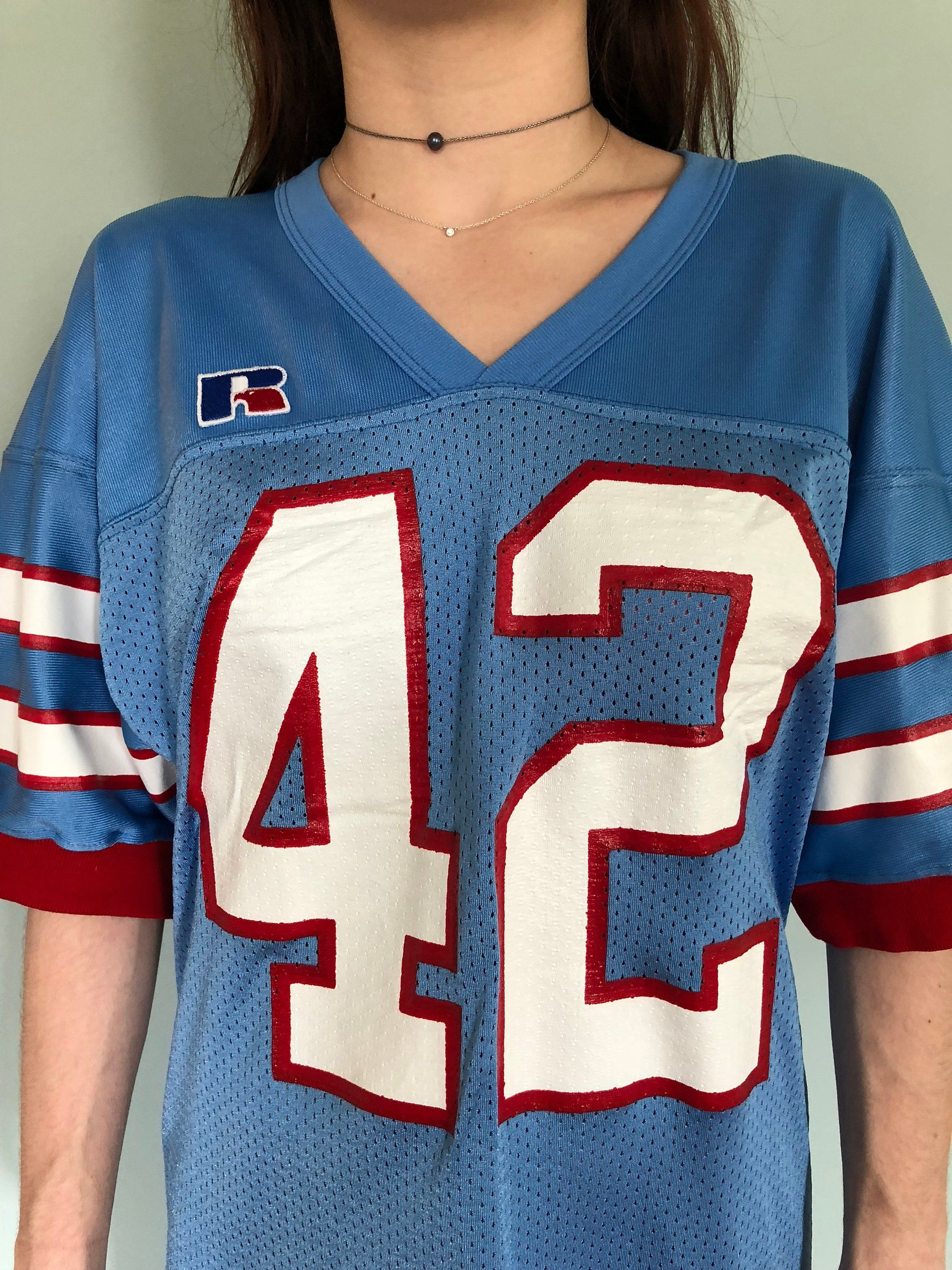 ef535c78 Retro Houston Oilers Jersey Dress Medium | Vintage Style | Houston ...