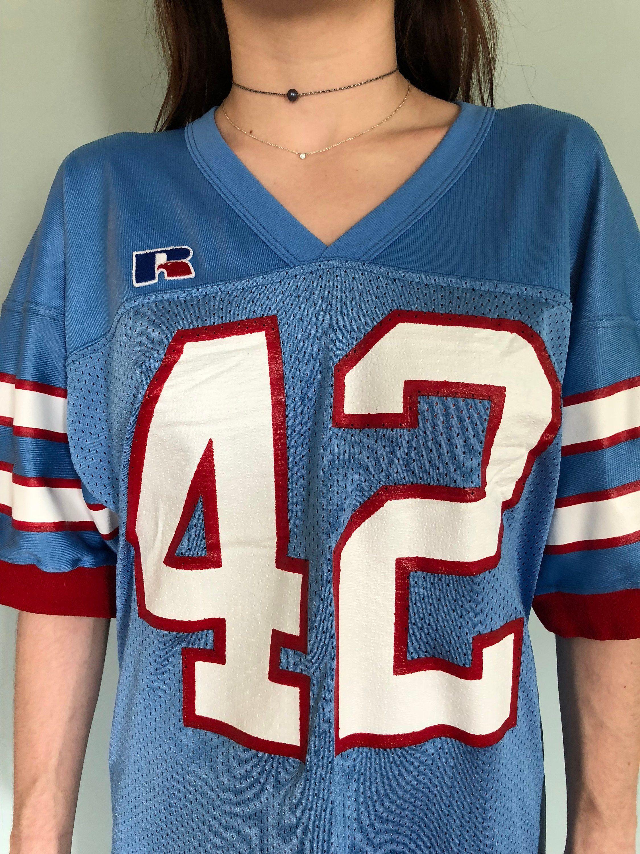 e8cfc9375 Retro Houston Oilers Jersey Dress Medium | Vintage Style | Houston ...